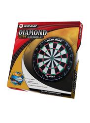 Winmax Diamond Bristle Dartboard, WMG08092, Multicolour