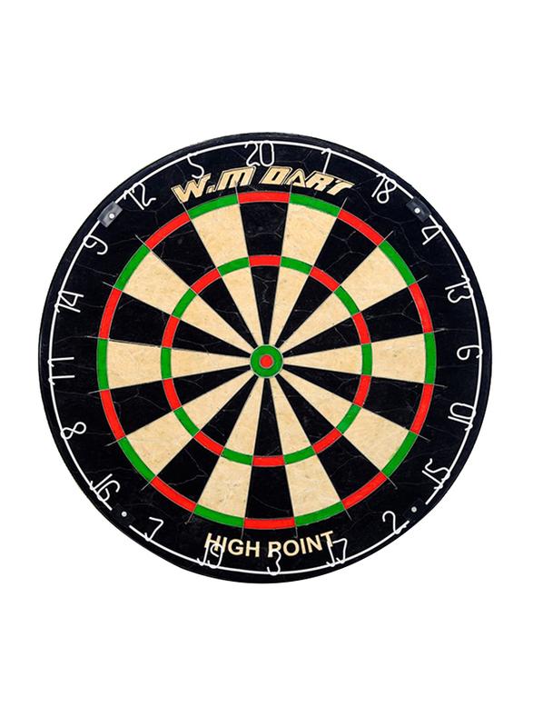 Winmax Match play Bristle Dartboard Set, WMG11504, 5kg, Black