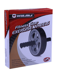 Winmax Fitness Gear Exercise Wheel, Black