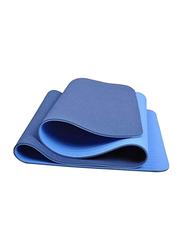 Winmax Non-Slip Comfortable Natural Rubber TPE Yoga Mat, Blue