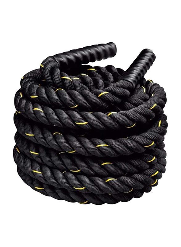 Star Fitness Power Training Rope, Black