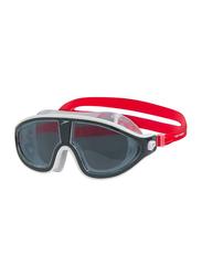 Speedo Biofuse Rift Mask Goggles, Red/Grey