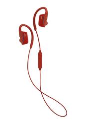 Jvc HA-EC30BT Wireless In-Ear Sports Headphones, Red