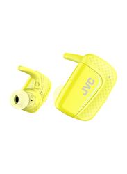 Jvc Truly Wireless In-Ear Sports Headphones, Yellow