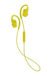 Jvc HA-EC30BT Wireless In-Ear Sports Headphones, Yellow