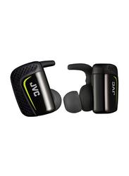 Jvc Truly Wireless In-Ear Sports Headphones, Black