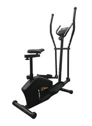 Marshal Fitness Hot Shapers Magnetic Elliptical Trainer with Adjustable Seat, MFK-741 EA, Black