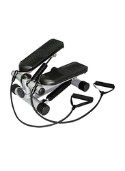 Mini Stepper with Resistant Band, Black