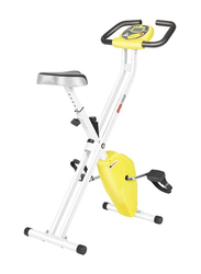 Marshal Fitness Fordable Exercise Bike with Adjustable Resistance, BXZ-B70X, Multicolour