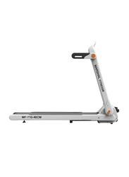 Marshal Fitness Pre Assembled Space Saving Home Use Walking Pad Treadmill, MF-710, Black/White