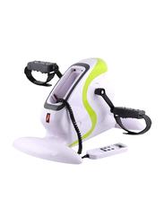 Marshal Fitness Electric Pedal Exercise Bike, MF-0070, White