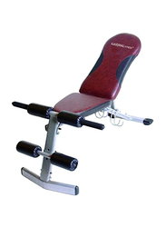 Marshal Fitness Adjustable Sit Up Bench, Multicolour