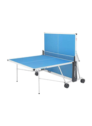 Marshal Fitness Foldable Outdoor Table Tennis Table, MF-1300, Blue