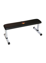 Marshal Fitness Chest Press Exercise Bench, Silver/Black