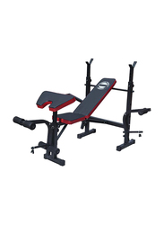 Marshal Fitness Multi Function Weight Bench, Black