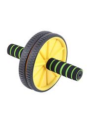 Lordex Total Body Exerciser Wheel, Black/Yellow