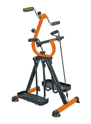 Marshal Fitness Master Gym Mini Exercise Bike, MF-0108, Black/Orange