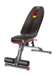 Marshal Fitness Heavy Duty Situp Bench, Black