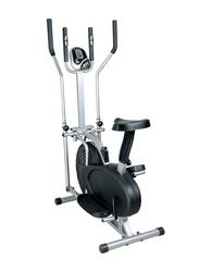 Orbitrack Exercise Bike, Black/Silver