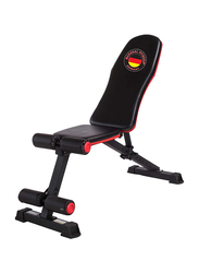 Marshal Fitness Adjustable Exercise Bench with Incline Decline Function, MF-2750, Black