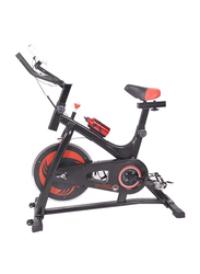 Marshal Fitness Indoor Exercise Spinning Bike Cycling, Black