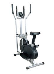 Marshal Fitness Orbitrack Bike, 0086, Black/Silver