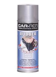 Car-Rep 400ml Rubber Comp Rubberized Wheel Spray, Silver High Gloss