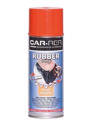 Car-Rep 400ml Rubber Comp Rubberized Spray, Neon Orange