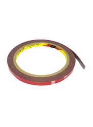 3M Double Side Tape, 8mm x 1.5m, Red