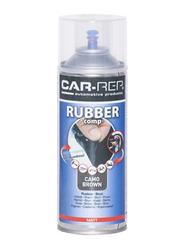 Car-Rep 400ml Rubber Comp Rubberized Spray, Camo Brown Matte