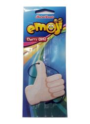 Retro Scents Emoji Cherry Air Freshener, Beige
