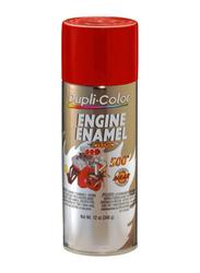 Dupli Color 340g Engine Ceramic Ford Enamel Paint, EDE1605, Red