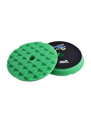 Shine Mate 6-inch Black Diamond Hard Foam Pad, Green