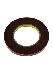Auto Plus Double Side Tape, 8mm x 10m, Brown