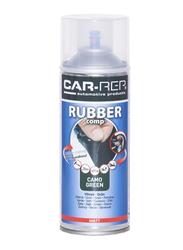 Car-Rep 400ml Rubber Comp Rubberized Spray, Green Matte