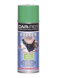 Car-Rep 400ml Rubber Comp Rubberized Spray, Neon Green