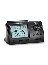 Al-Harameen Alarm Digital Table Clock, HA.3005, Black