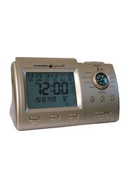 Zoon Harameen Azan Digital Clock, HA-3005, Gold