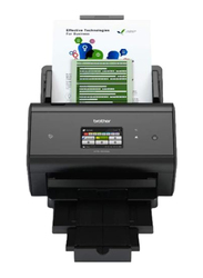 Brother ADS-3600W Professional Document Scanner with ADF, 1200DPI, Black