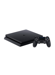 Sony PlayStation 4 Slim Console, 500GB,with 1 Controller, Jet Black