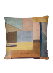 Dodo The Twenty Lines Cushion, 40 x 40cm, Green