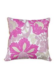 Dodo Air Provencal Jardin in X Cushion, 45 x 45cm, Pink/Gold