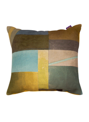Dodo The Twenty Lines Cushion, 40 x 40cm, Yellow