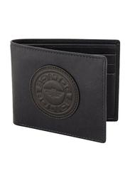 Police Carve Leather Bi-Fold Wallet for Men, PA40128WLBL, Blue