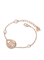 Escada Sterling Silver Chain Bracelet for Women, Rose Gold