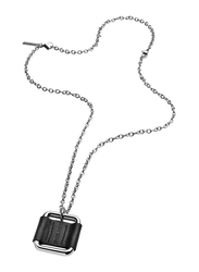 Police Railay Stainless Steel Pendant Necklace for Men, Silver