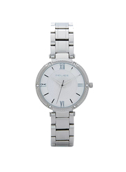 Police Chiba Metal Watch for Women, Water Resistant, Silver, P 15568BS-04M