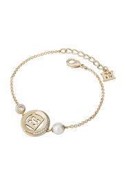 Escada Sterling Silver Chain Bracelet for Women, Gold