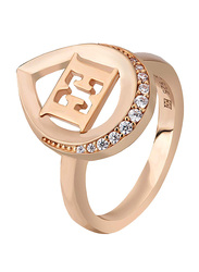 Escada Fashion Ring for Women, Rose Gold, EU 56