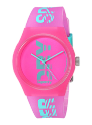 Superdry Urban Sport Analog Silicon Watch for Women, Water Resistant, Pink, T SDWSYL189PN